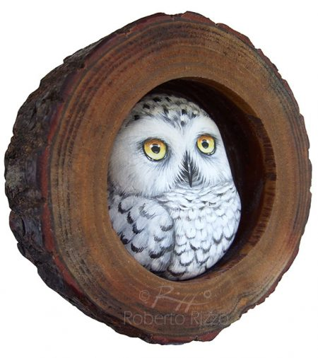 Barn Owl S Lair A Wood Slice Owl Painting To Decorate