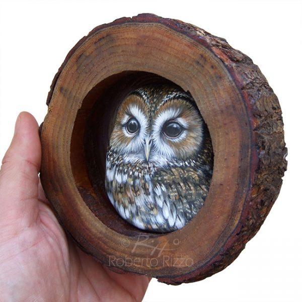 Owl art by Roberto Rizzo