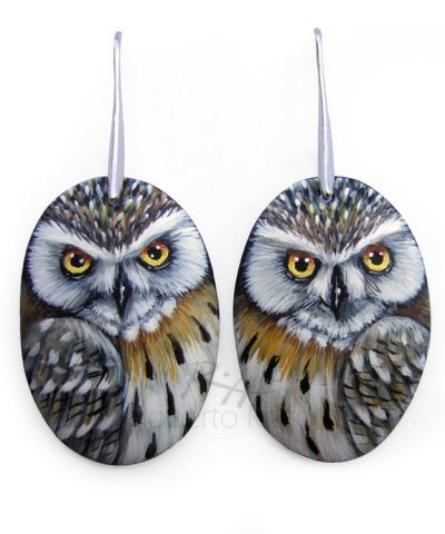 Eagle Owl Earrings