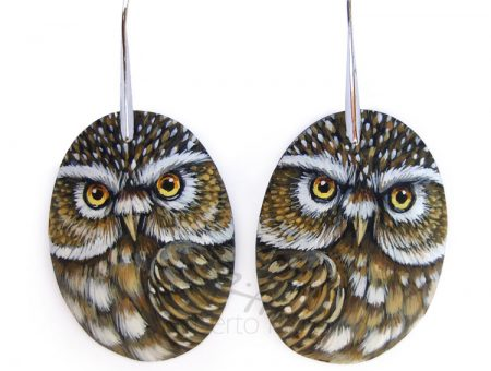 Little Owl Earrings