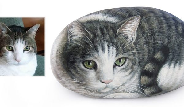 Pet Rock Portrait On Commission
