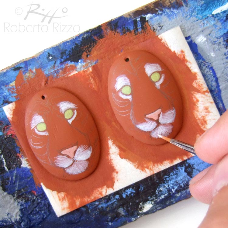 Hand Painted Pet Mirrors By Lisa Charlton