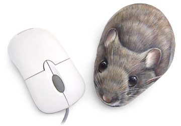 Painted mouse