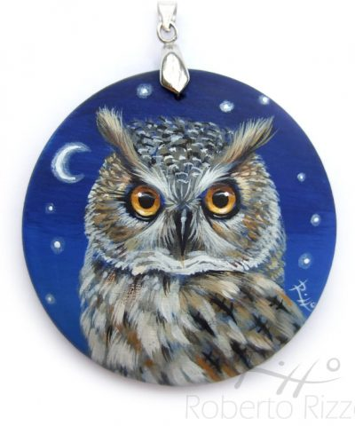 Long-Eared Owl Necklace